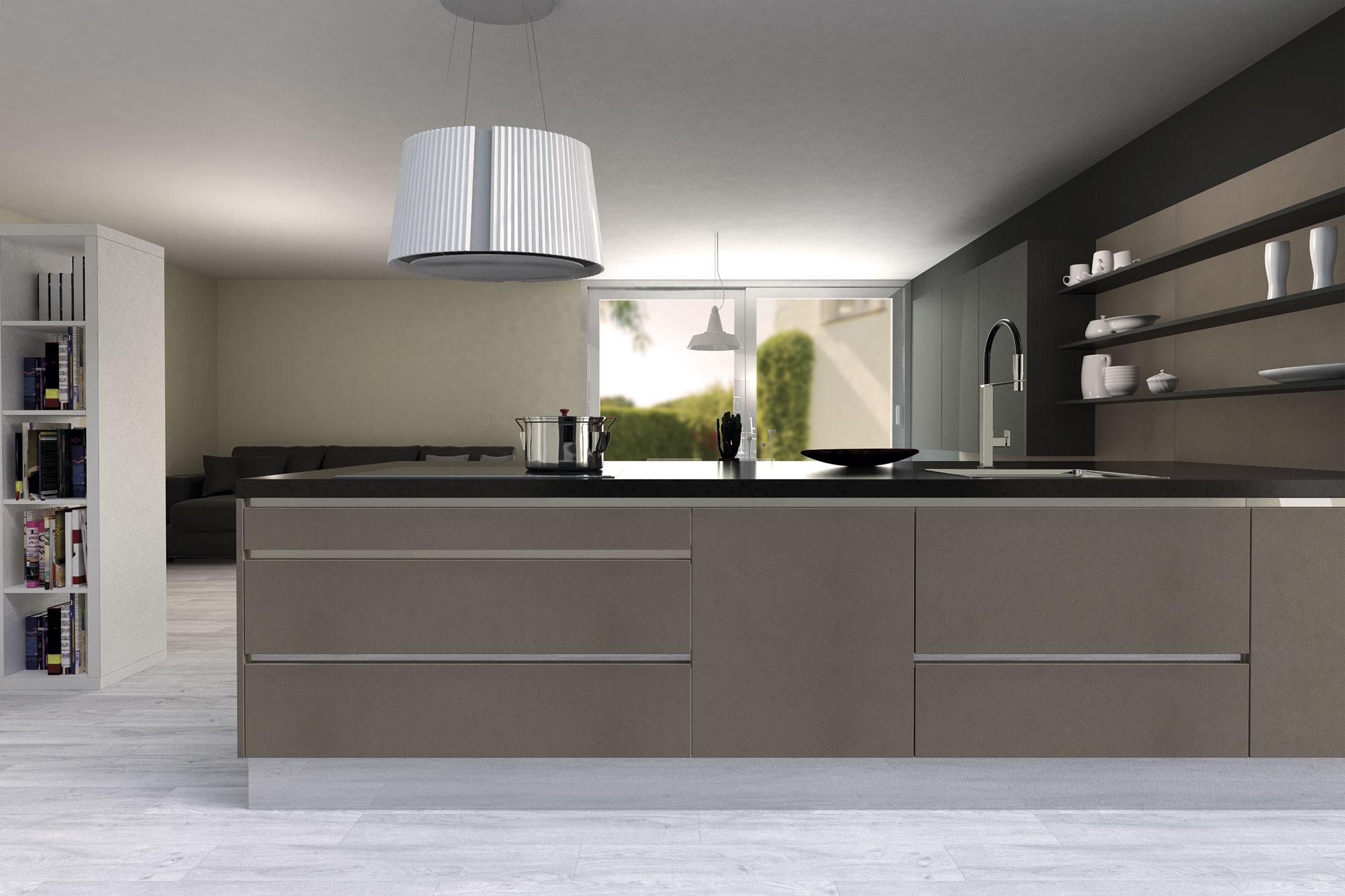 Muebles de cocina disenove cocinas de estilo minimalista - Encimeras alvic ...