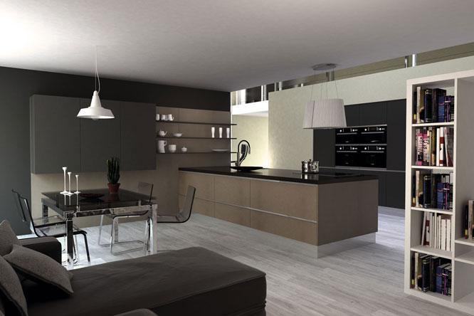 Muebles de cocina disenove cocinas en un concepto abierto for Cocina y salon abierto