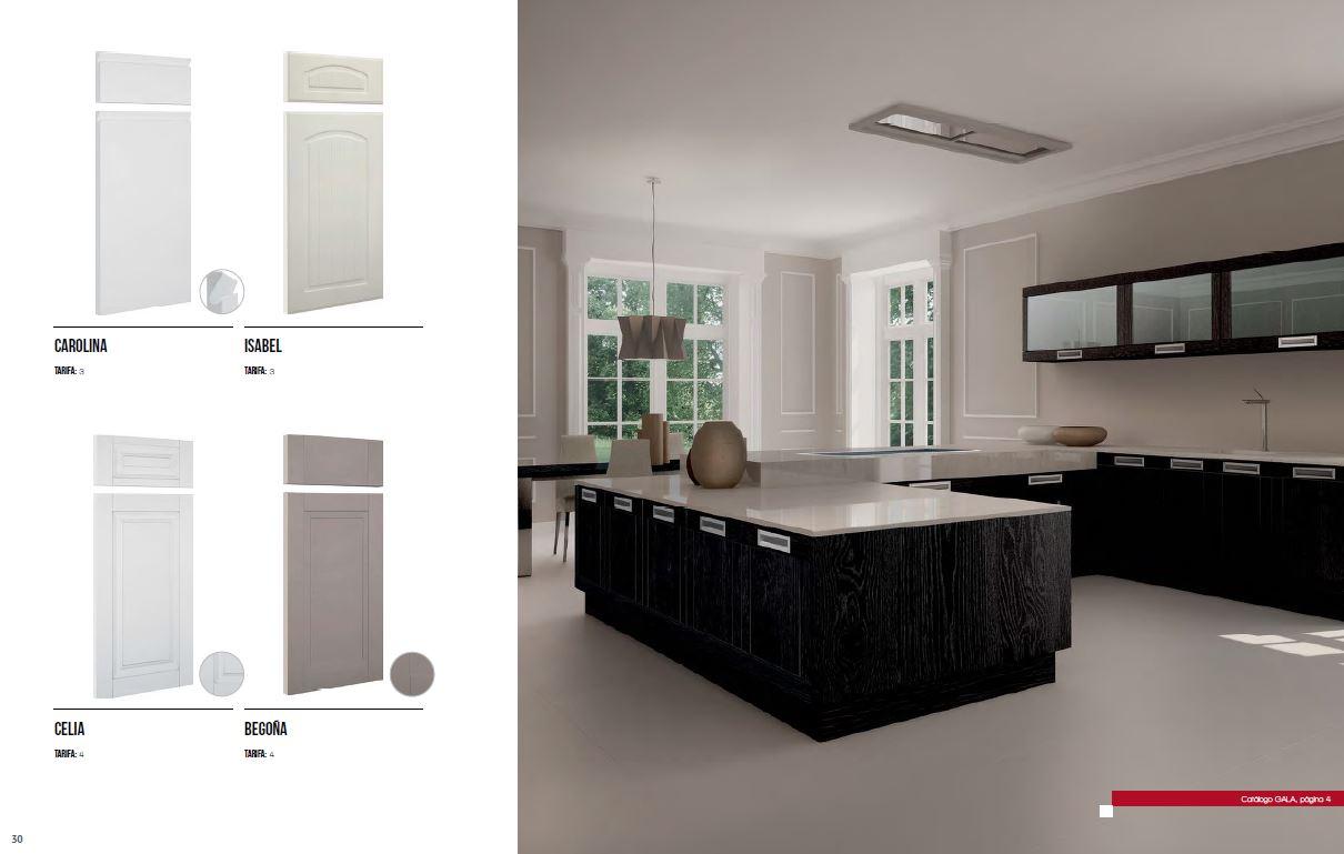 Muebles de cocina disenove nuevo cat logo de puertas - Cocinas forlady catalogo 2016 ...