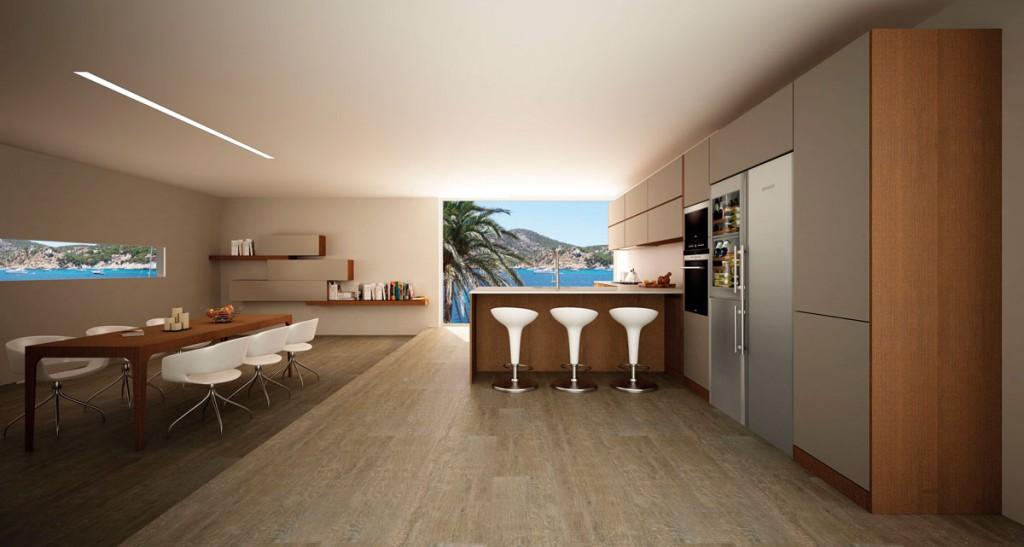 Muebles de cocina disenove cocinas con isla - Cocinas 2017 tendencias ...