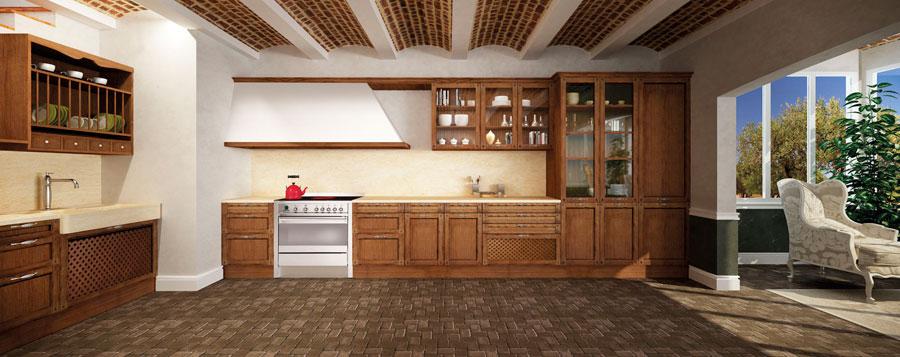 cocina-puertas-madera