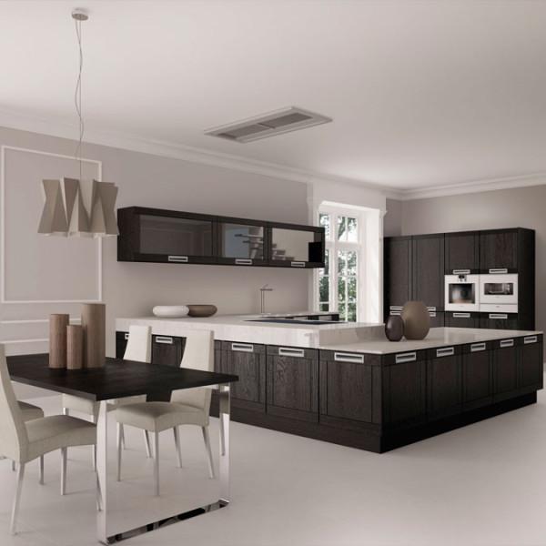 Muebles de cocina disenove campanas extractoras discretas - Campanas extractoras cocinas ...