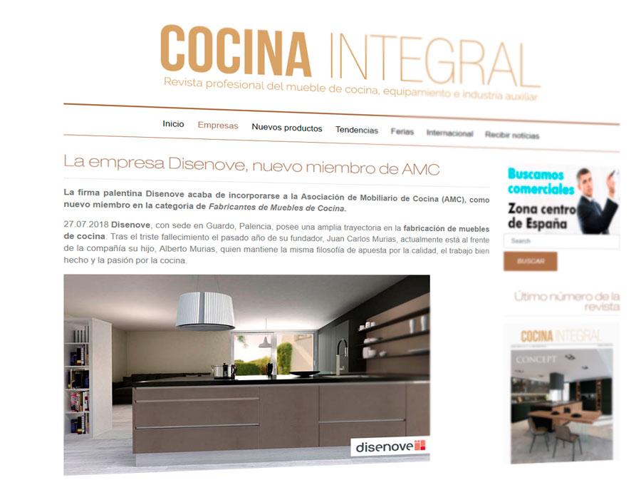 Muebles de cocina Disenove | Disenove, nuevo miembro de la ...