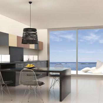 Muebles de cocina estratificados alta presión mate
