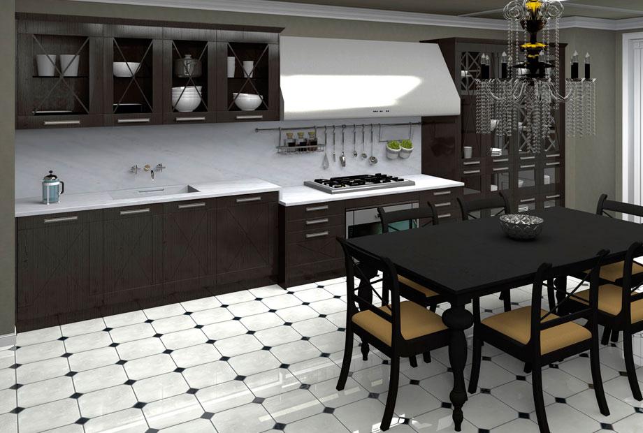 Sin miedo al color en tu cocina