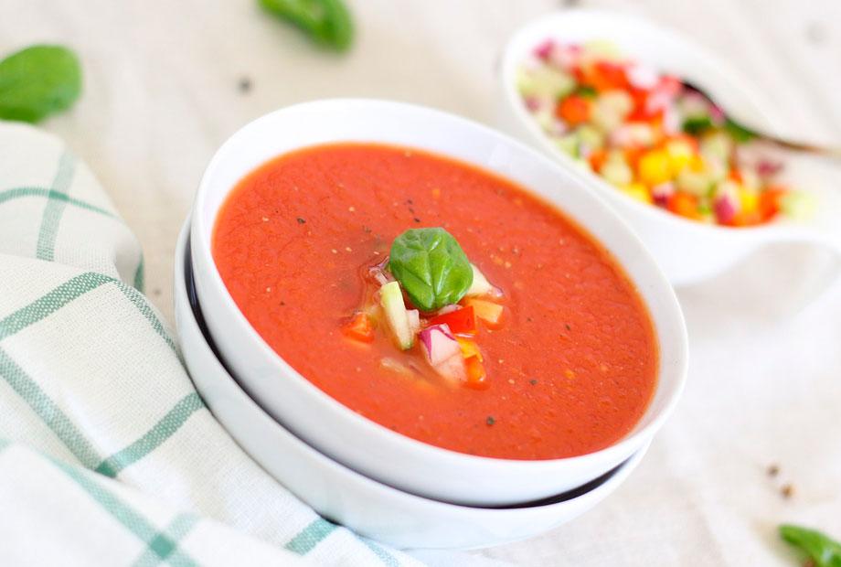 Una receta fresquita con mucho tomate